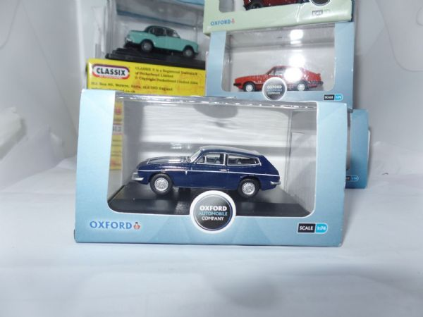76RS001 Oxford Diecast 1:76 Scale Blue Princess Anne Scimitar